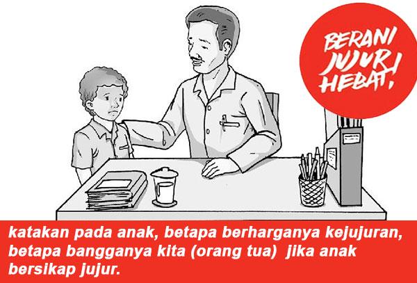 cara mendidik anak yang baik dan jujur
