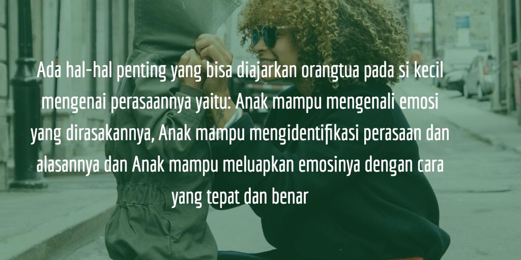 Menahan Emosi Itu Sulit Orangtua Sebaiknya Membiarkan Anak Untuk