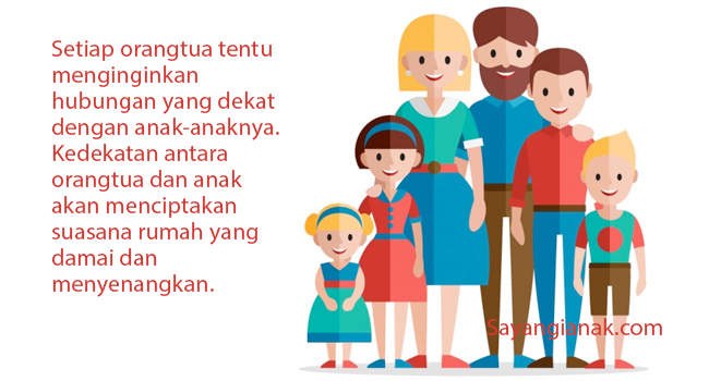 Walau Orangtua Sibuk Penting Mempererat Hubungan Orangtua Dengan