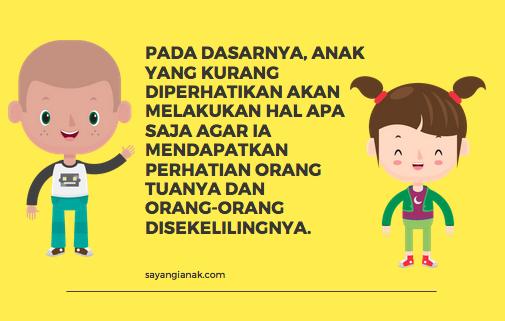Anak Kurang Perhatian Penyebab Anak Susah Diatur Ini 9 Tips
