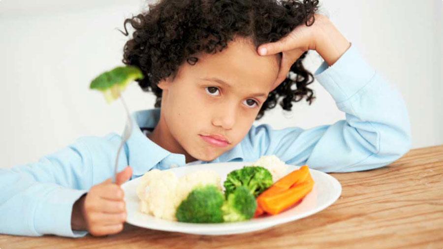 kids no eat