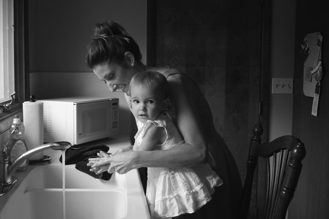 adult-baby-black-and-white-1089077